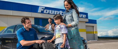Fountain Tire is Driven to Serve