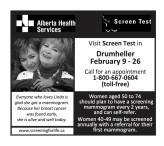 Alberta Health Services  Screen Test