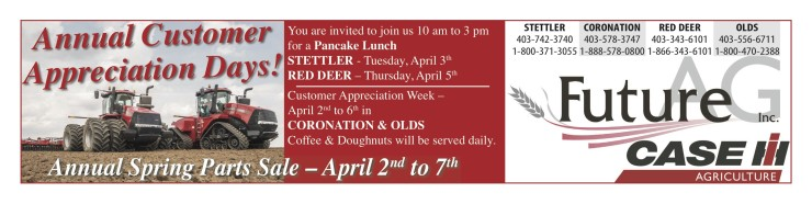 Annual Customer Appreciation Days At Future Ag