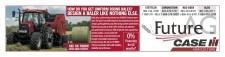 Build dense, uniform bales with the Case IH RB565 Premium round baler