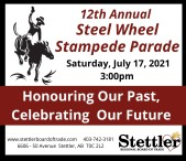 12th Annual Steel Wheel Stampede Parade