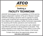 Atco Seeking a Facility Technician