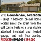Large 7 bedroom bi-level home located across the street from the golf course