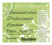 Administrative Professionals Luncheon