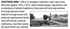 EXCEPTIONAL HOME -1838 sq. ft. bungalow 5 bedrooms 3 bath