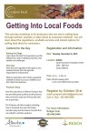 Getting Into Local Foods