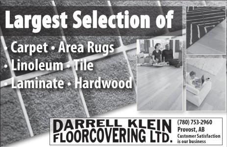 Largest Selection Of • Carpet • Area Rugs • Linoleum • Tile • Laminate • Hardwood
