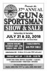 37th ANNUAL GUN & SPORTSMAN SHOW & SALE