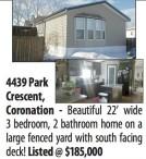 Beautiful 22' wide 3 bedroom, 2 bathroom home for sale