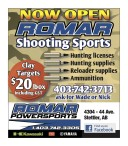 NOW OPEN: ROMAR Shooting Sports
