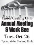 Castor Curling Club Annual Meeting & Work Bee