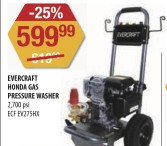 EVERCRAFT HONDA GAS PRESSURE WASHER