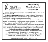 Now accepting Clearview Awards nominations!
