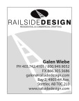 RAILSIDE DESIGN RESIDENTIAL & COMMERCIAL DRAFTING