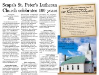Scapa's St. Peter's Lutheran Church celebrates 100 years