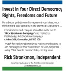Invest in Your Direct Democracy Rights, Freedoms and Future
