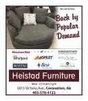 Back by Popular Demand at Heistad Furniture